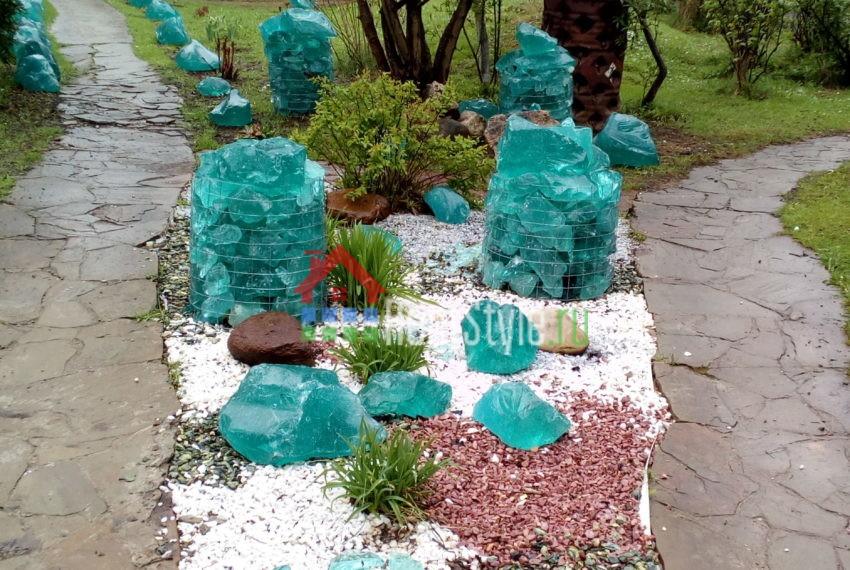 камень ваза