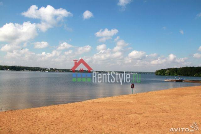вид на пляж песок